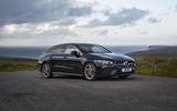 Mercedes-Benz CLA Shooting Brake 220d 2020 UK first drive review - static