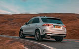 Mercedes-Benz GLE 400d 2019 UK first drive review - on the road cornering