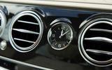 Mercedes-Benz S-Class S500L 2018 long-term review - dashboard clock