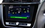 MG ZS EV 2019 UK first drive review - navigation