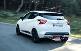Nissan Micra 2019 first drive review - on the road rear