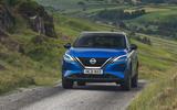 17 Nissan Qashqai 2021 UK FD track