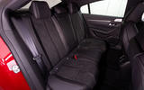Peugeot 508 2018 review rear seats