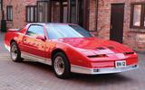 Pontiac Trans Am Firebird - front