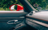 Porsche 718 Boxster GTS 4.0 2020 UK first drive review - interior