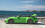 Porsche 911 Cabriolet 2019 first drive review - roof open