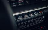 Porsche 911 Targa 2020 UK first drive review - console buttons
