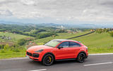 Porsche Cayenne Coupé 2019 first drive review - static front
