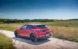 Porsche Cayenne GTS 2020 UK first drive review - static rear