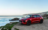 Porsche Macan GTS 2020 first drive review - static front