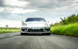 Porsche Panamera e-Hybrid 2020 UK first drive review - on the road nose
