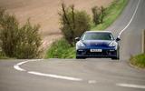 17 Porsche Panamera Turbo S E Hybrid ST 2021 UK FD on road nose