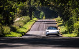 17 Porsche Taycan Cross Turismo 4S 2021 UK FD on road front