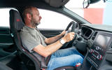 Renault Megane Trophy R 2019 first drive review - Matt Prior driving