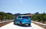 Renault Zoe GT Line R135 2019 first drive review - static rear