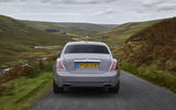 Rolls Royce Ghost 2020 UK first drive review - on the road rear