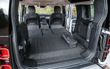 17 Rover Defender PHEV 2021 UK FD boot seats folded