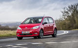 Skoda Citigo-e iV 2020 UK first drive review - on the road front