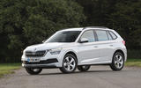 Skoda Kamiq 2019 UK first drive review - static front
