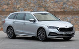 Skoda Octavia estate 2020 UK first drive review - static