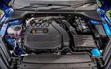 Skoda Octavia hatchback 2020 UK first drive review - engine