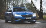 Skoda Superb Estate Sportline 2020 UK first drive review - static
