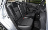 Subaru Impreza 2018 UK review rear seats