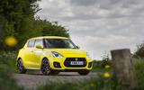 Suzuki Swift Sport 2018 long-term review hero static
