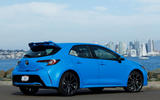Toyota Corolla 2.0 XSE CVT 2019 review - static rear