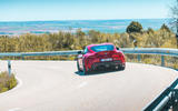 Toyota GR Supra 2019 first drive review - cornering rear