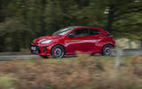 Toyota GR Yaris 2020 UK first drive review - on the road side