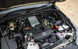 Toyota Hilux Invincible X 2020 UK first drive review - engine