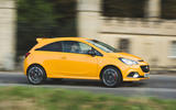 Vauxhall Corsa GSi 2018 UK first drive review panning