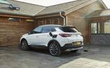 Vauxhall Grandland X Hybrid4 2020 UK first drive review - static rear