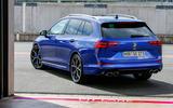 17 Volkswagen Golf R Estate 2021 first drive static rear
