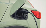 17 Volvo XC40 Recharge P8 2021 UK first drive review charging port