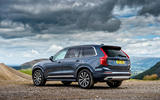 Volvo XC90 B5 petrol 2020 UK first drive review - static rear