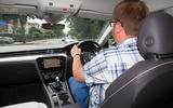 Volkswagen Arteon 2018 long-term review Matt Saunders driving