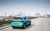 Volkswagen T-Cross R-Line 2020 UK first drive review - on the road rear