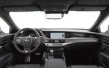 Lexus LS F Sport interior