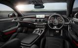 2021 Kia Stinger interior