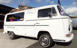 Defender hearse conversion - VW camper hearse