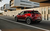 Mazda CX-3 2018 first drive review action rear