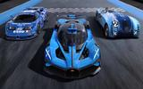 Bugatti Bolide with old models