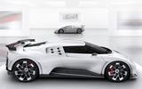 2020 Bugatti Centodieci reveal - side