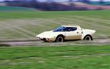 Lancia Stratos - tracking side
