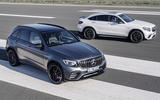 Mercedes GLC 63 and GLC 63 Coupe