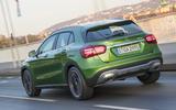 Mercedes-Benz GLA rear