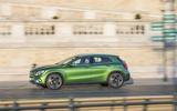 Mercedes-Benz GLA side profile