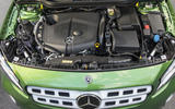 Mercedes-Benz GLA engine bay